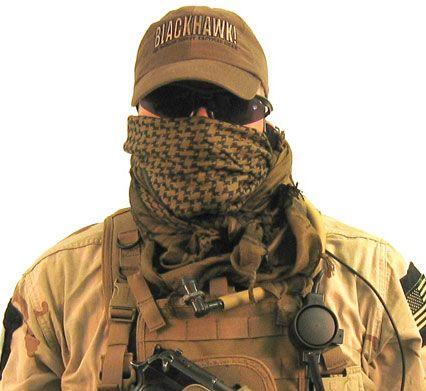 ブラックホーク BLACKHAWK スカーフ シェマグ OD Tactical Shemagh【メール便配送可】