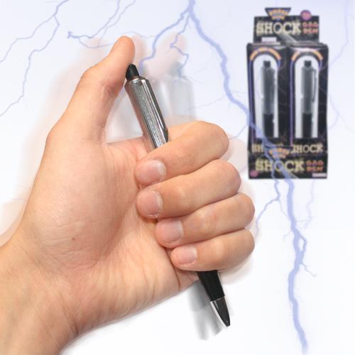 【メール便送料無料】ジョークグッズ リアル 電気ビリビリ イタズラ 高級 ショックペン