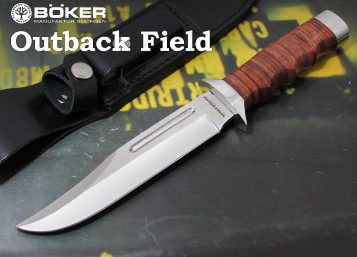ボーカー マグナム 02MB704 アウトバック フィールド,シースナイフ,BOKER Magnum Outback Field sheath knife ※お得品  【日本正規品】