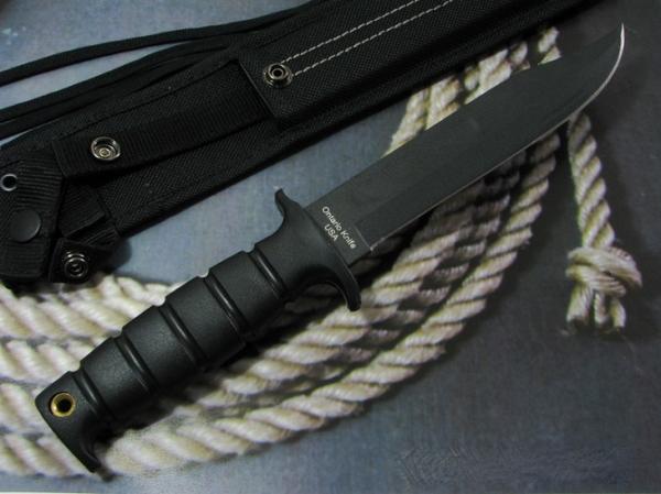 オンタリオ/Ontario マリーン コンバット ナイフ SP-1 MOLLE対応シース付