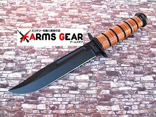 ケーバー/KA-BAR フルサイズ USMCファイティングナイフ 直刃 5017 カイデックスシース