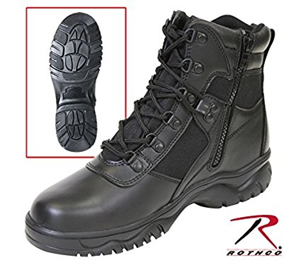 ロスコ/ROTHCO レザー サイドジッパーウォータープルーフ ブーツ WT(防水靴) 25.5cm 5190