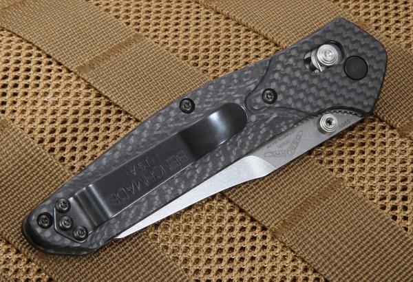 ベンチメイド 940S-1 Osborne Carbon シルバー 直・波コンビ刃 ナイフ