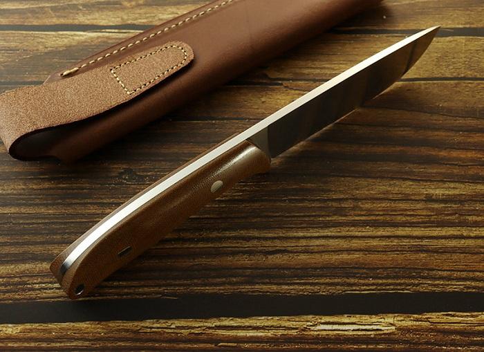 モキナイフ MK-2020NBCM/FL Berg(バーグ) フラット ブラウン ブッシュクラフトイフ ,Moki Knife