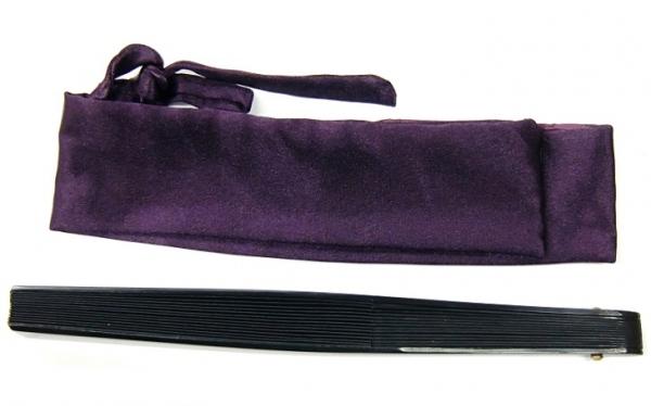 尾形刀剣 鉄扇8寸 白 (TS-W) 贈り物やプレゼントなどに 【レターパックプラス配送可】