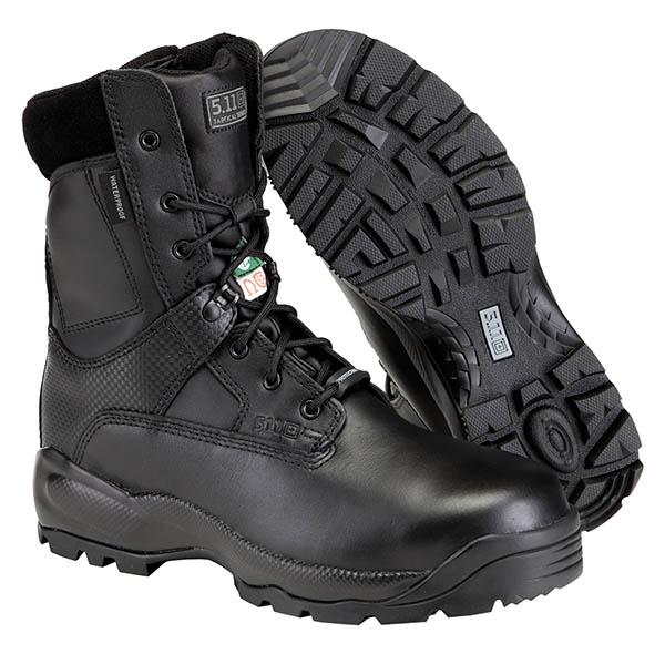 軍・法的機関用 5.11 ファイブイレブン タクティカル ASTM シールド8 10W 26cm サイドジッパーブーツ ワイド仕様 防水/安全靴