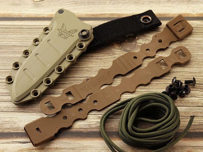 ベンチメイド 375FE-1 フィクスド アダマス ブラック シースナイフ ,BENCHMADE Fixed Adamas Black coating【日本正規品】