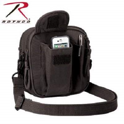 ロスコ/ROTHCO キャンバス オーガナイザー バッグ ブラック 2327【レターパックプラス便配送可】
