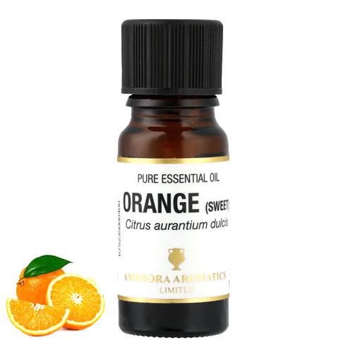 オレンジ アロマオイル 10ml(英国製/AEAJ表示認定精油)