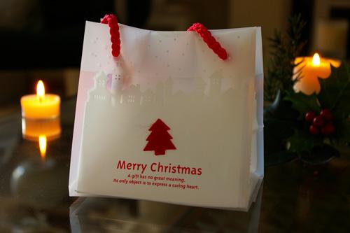 クリスマスアロマ ギフトバッグ