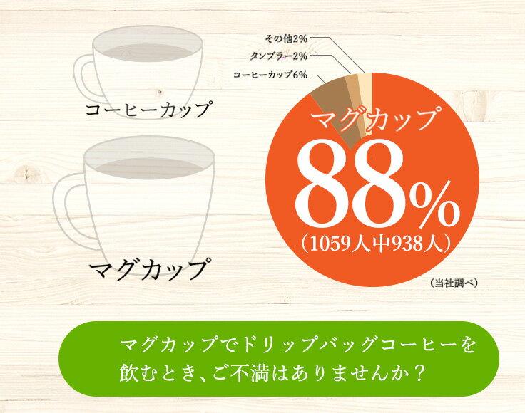 マグカップ・ドリップバッグ オーガニックブレンド 12g×6個