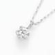 PT900ラボグロウンダイヤモンド 0.10ctプチペンダントネックレス