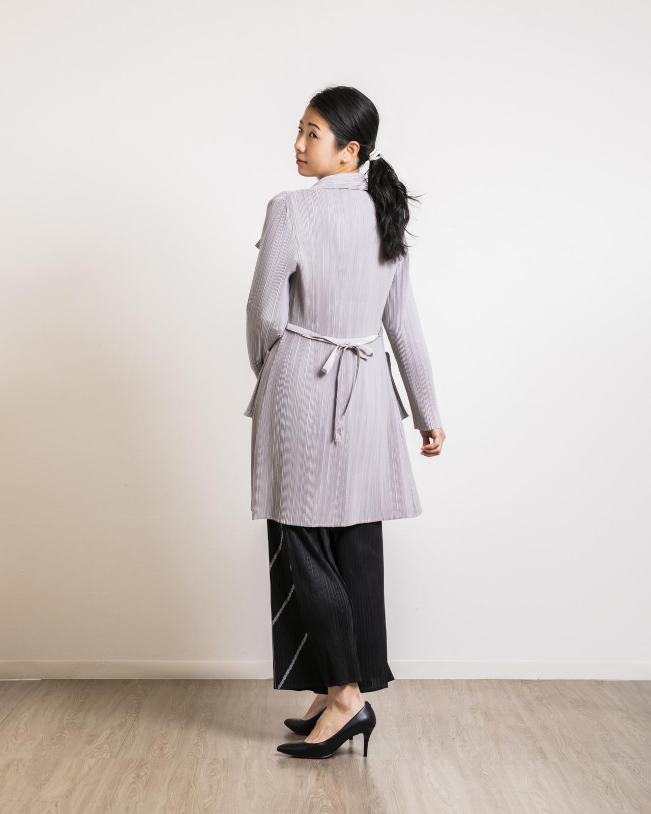 アルテソワ 大人綺麗めプリーツコート