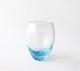 小島泰治 「流彩」グラス/水色