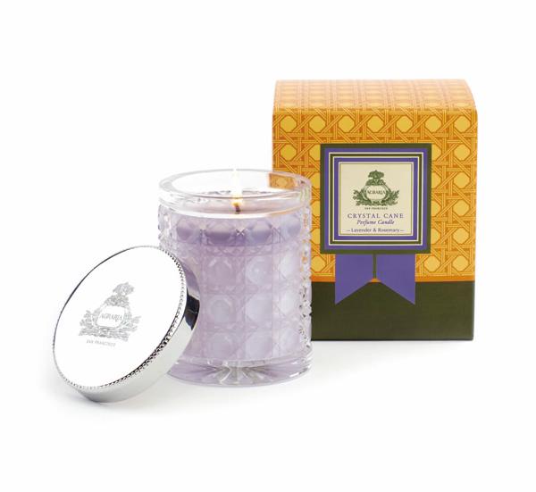 香るパフュームキャンドル−Lavender & Rosemary(ラベンダー&ローズマリー)−
