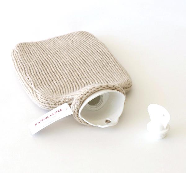 Katrin Leuze Collection/湯たんぽ/カシミア混/beige mel