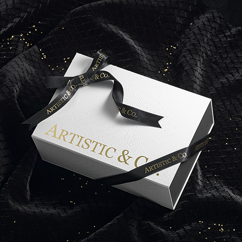 ARTISTIC&CO.オリジナルBOXラッピングオプション