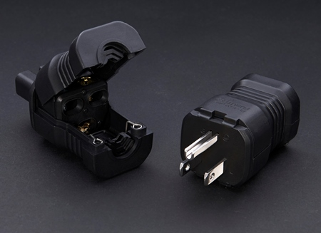 FURUTECH (フルテック) FI-15M Plus (R) / (G) オーディオグレード電源プラグ (ロジウムメッキ/24K金メッキ)