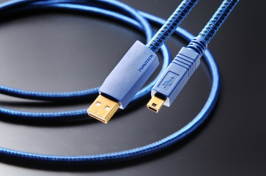 FURUTECH (フルテック) GT2 USBケーブル A/Mini-B (USB 2.0, 480Mbps)
