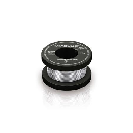 VIABLUE (ヴィアブルー) Silver Solder ハイエンド 銀入り無鉛ハンダ  | ロール (50g/100g/250g)