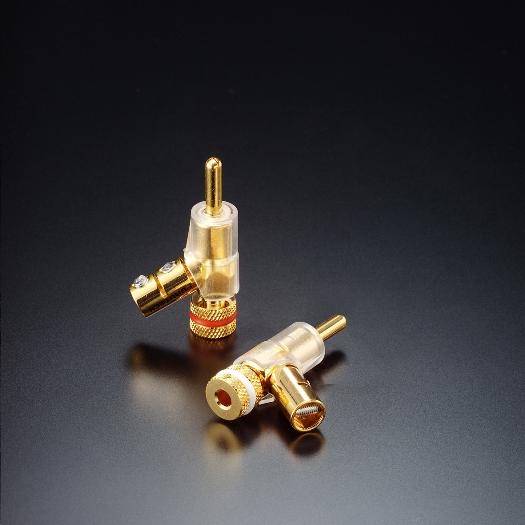 FURUTECH (フルテック) FP-202 (R)/(G) オーディオ・グレード バナナプラグ (ロジウム/24K金, 4個1組)