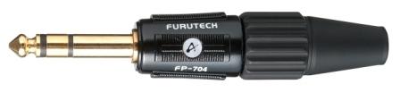 FURUTECH (フルテック) FP-704 (G) オーデイオ・グレード ステレオフォーンプラグ (24K金メッキ)