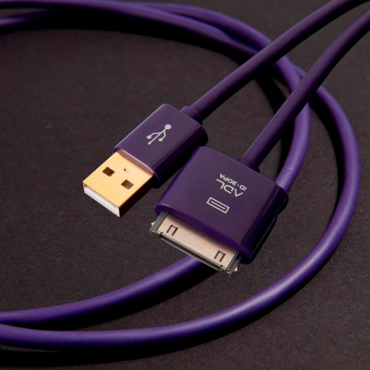 ADL (エーディーエル) iD-30PA iデバイスケーブル (USB⇔30pin Dock, 10cm/18cm/1.0m)