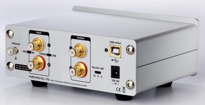 ADL (エーディーエル) GT40α フォノイコライザー内蔵 USB DAC/ADC | ハイレゾ対応 (24bit/192kHz)