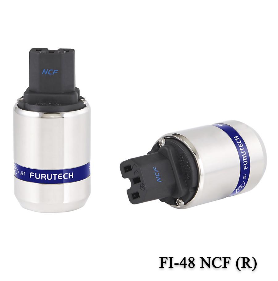 FURUTECH (フルテック) FI-48 NCF (Ag)/(R) ハイエンドグレード インレットプラグ (銀/ロジウムメッキ)