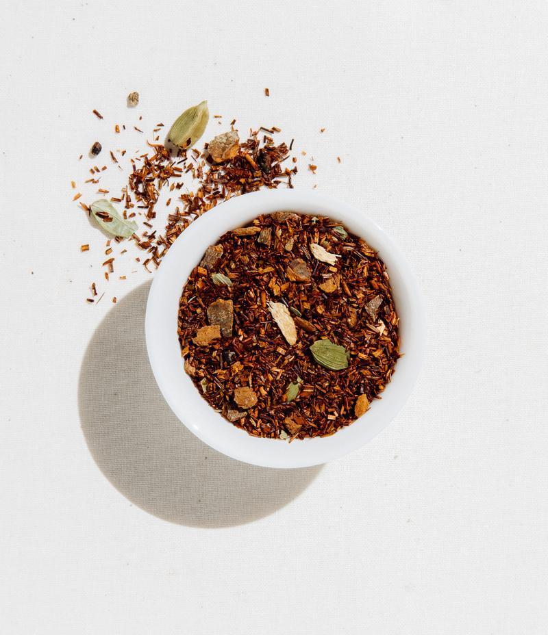 オーガニック ルイボスチャイ(Rooibos Chai) 4oz(113.4g)/有機ルイボスティー/(Caffeine Free)