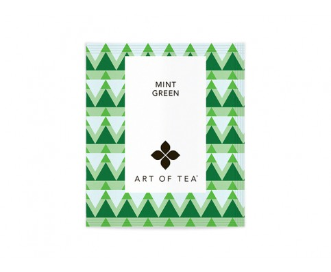 オーガニック ミントグリーン(Mint Green) サシェ12袋/有機緑茶