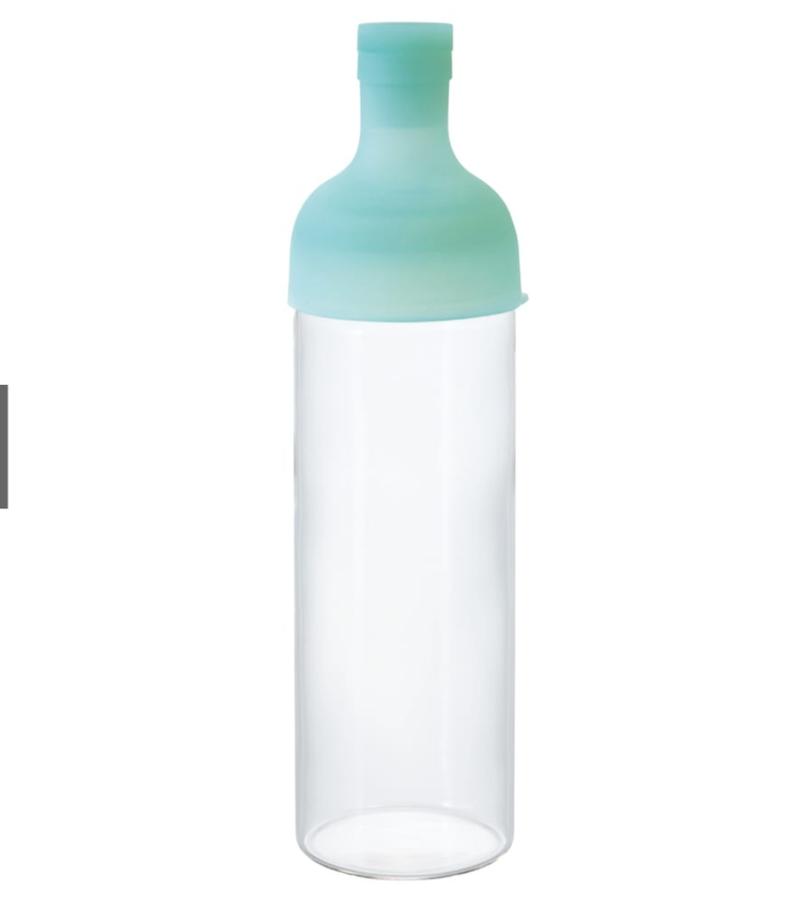 ハリオ フィルターインボトル トロピカル ハワイアングリーン 750ml