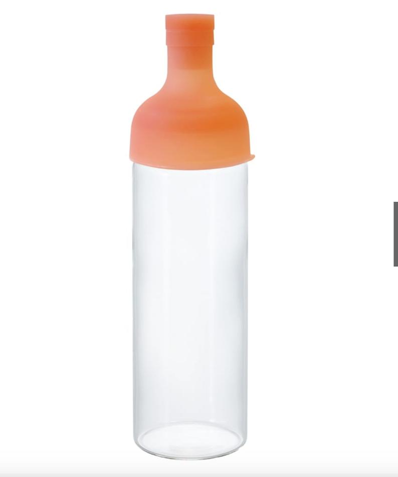 ハリオ フィルターインボトル トロピカル ハワイアンオレンジ 750ml