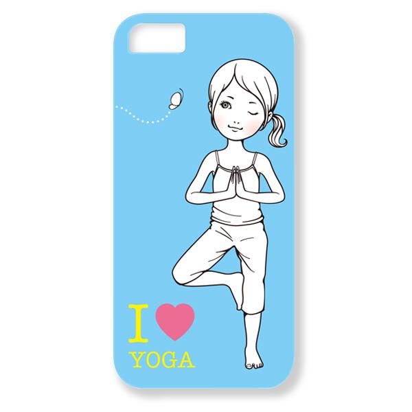 トツカケイスケ【I LOVE YOGA(ブルー)】