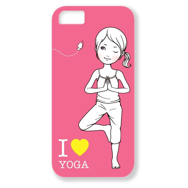 トツカケイスケ【I LOVE YOGA(ピンク)】