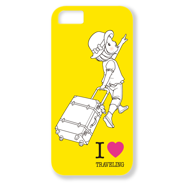 トツカケイスケ【I LOVE TRAVELING(イエロー)】