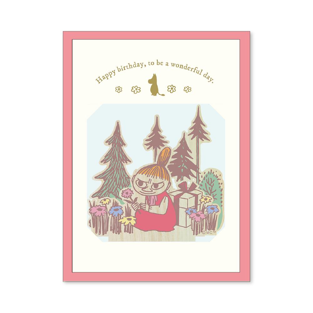 ムーミンミニウッドスタンドカード プレゼント