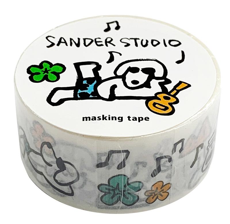 サンダースタジオ/マスキングテープ/アウトドア