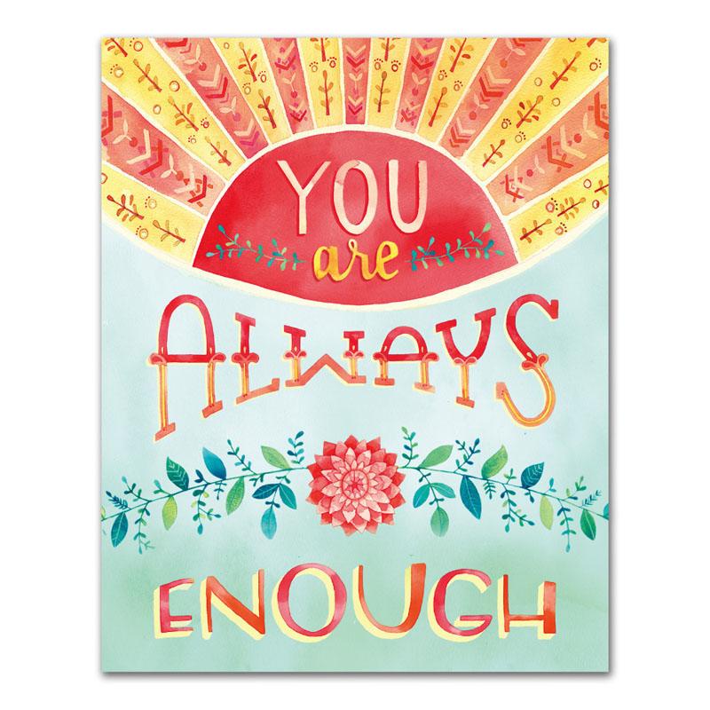オレンジサークルスタジオ インチプリント You Are Always Enough (OCS-15)