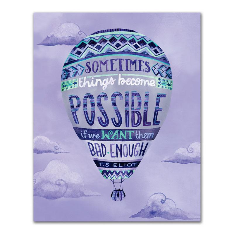 オレンジサークルスタジオ インチプリント Sometimes Things Become Possible (OCS-18)