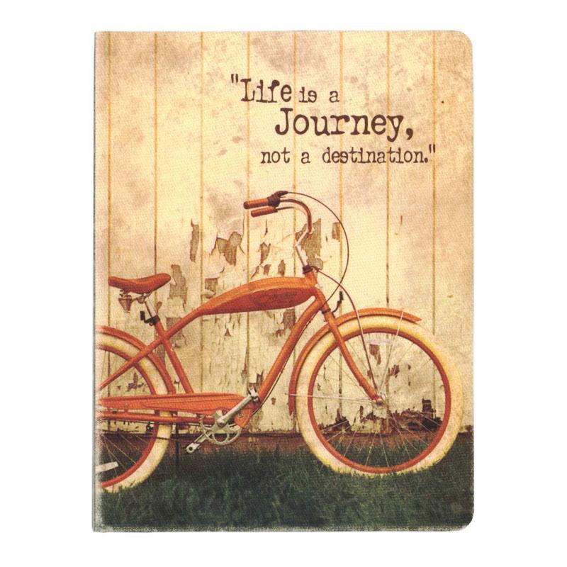 オレンジサークルスタジオ ノート オリジナルサイズ(キャンバス地表紙) Life Is a Jporney (OCS-30)