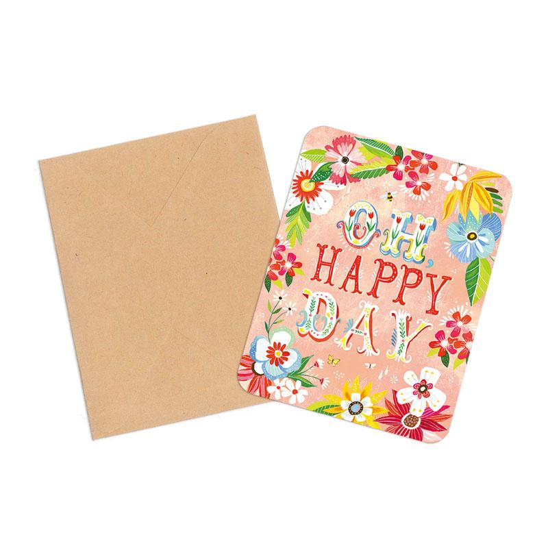 オレンジサークルスタジオ グリーティングカード Oh,Happy Day (OCS-06)