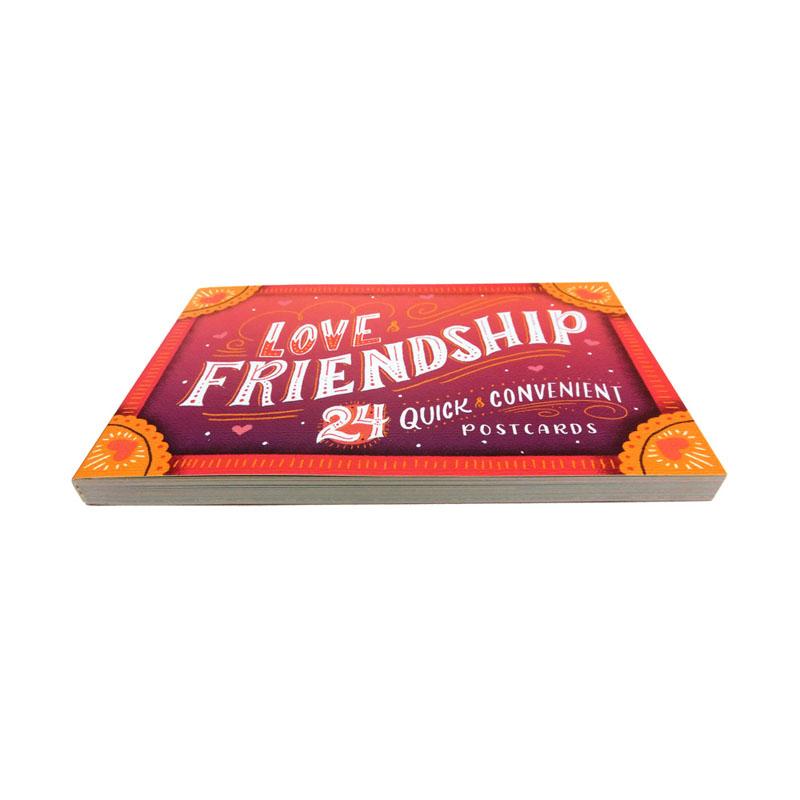 オレンジサークルスタジオ ポストカードブック Love&Friendship:24 Quick and Convenient Postcards (OCS-39)
