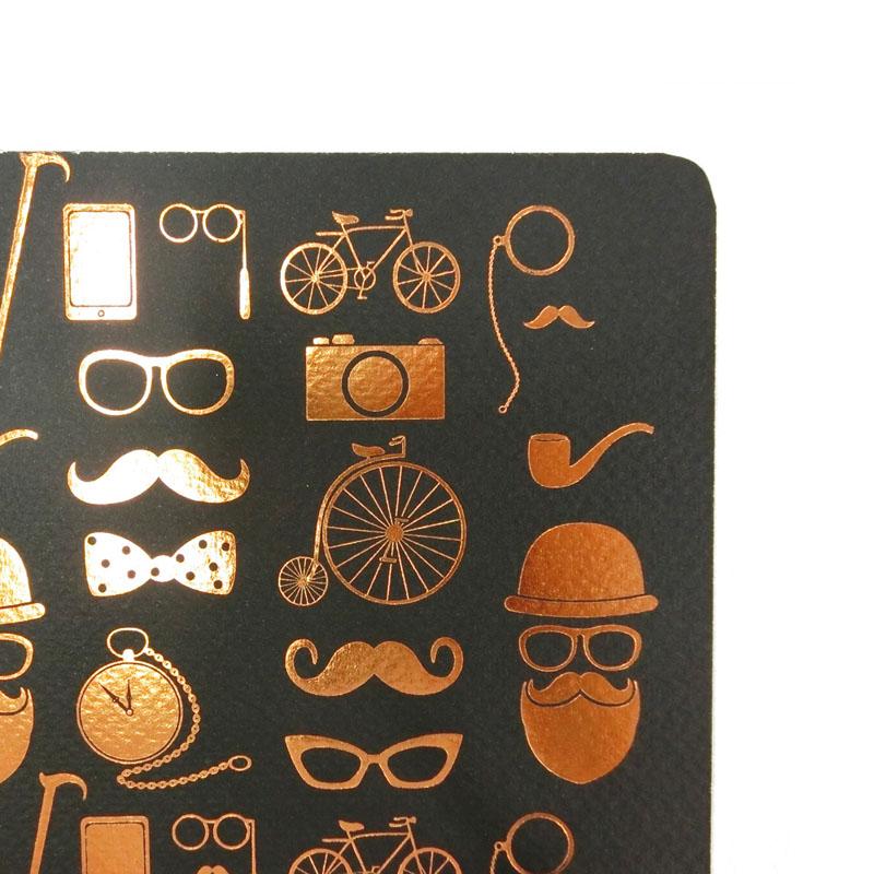 オレンジサークルスタジオ ノート Foil Icons (OCS-37)