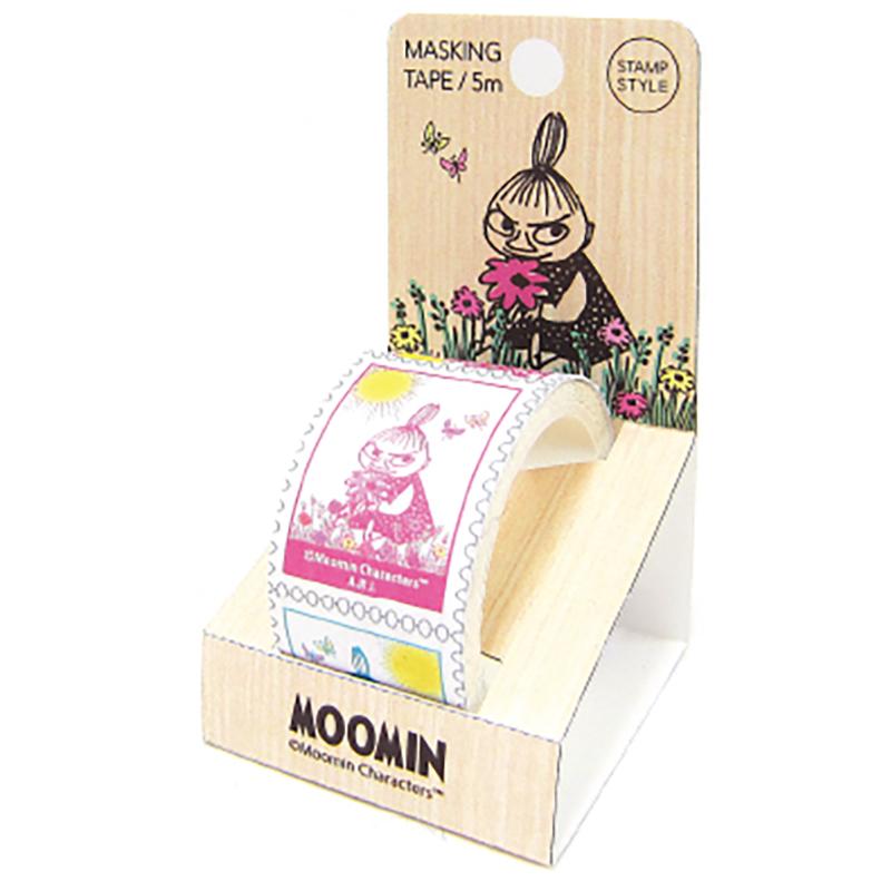 ムーミン 切手型マスキングテープ4