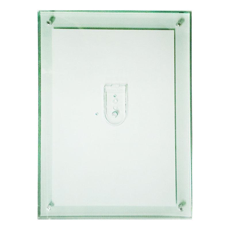 アクリルフレーム/フォトフレーム フェイスファイブフレーム グリーン B5サイズ(182×257mm)