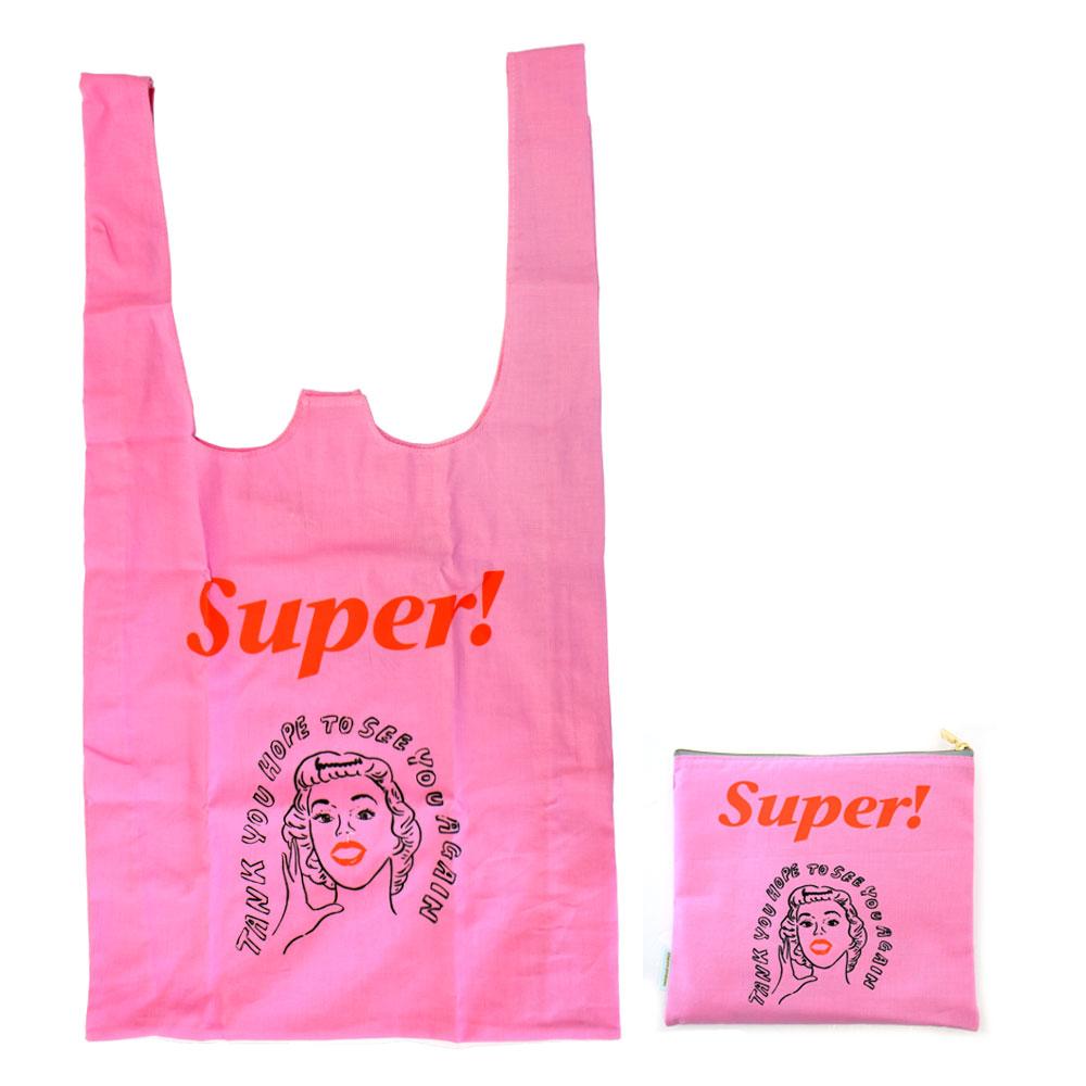 山川春奈 エコバッグ(マルシェバッグ)Super! Bag