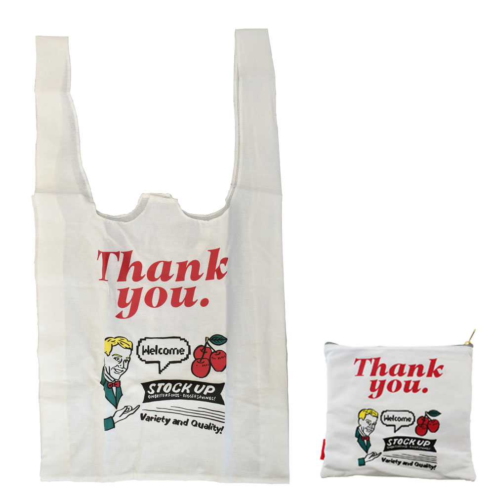 山川春奈 エコバッグ(マルシェバッグ)Thank you.Bag