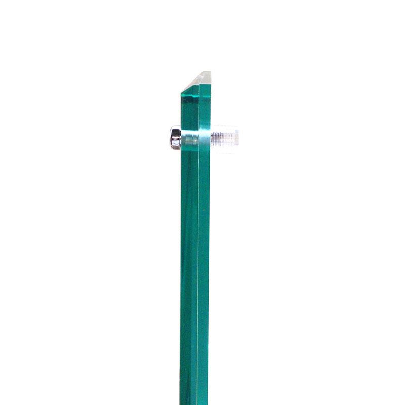 アクリルフレーム/フォトフレーム フェイスファイブフレーム グリーン キャビネ対応(130×180mm)