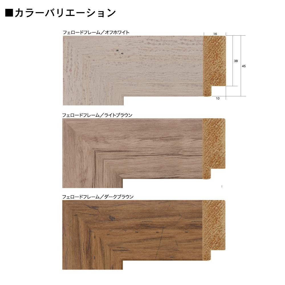 樹脂フレーム/フェロードフレーム 八ツ切サイズ(242×303mm)